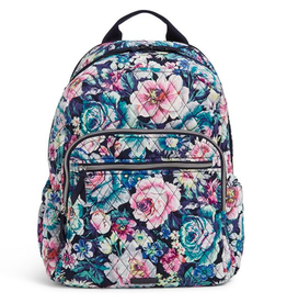 VERA BRADLEY Iconic Campus Backpack Garden Grove
