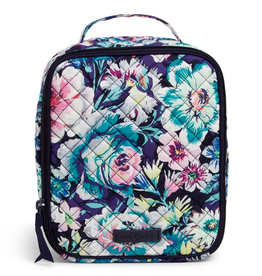 VERA BRADLEY Iconic Lunch Bunch Garden Grove