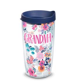 TERVIS TUMBLER Grandma Dainty Floral 16 oz Wrap