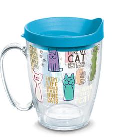 TERVIS TUMBLER Cat Sayings 16 oz Mug