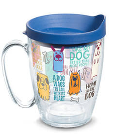 TERVIS TUMBLER Dog Sayings 16 oz Mug