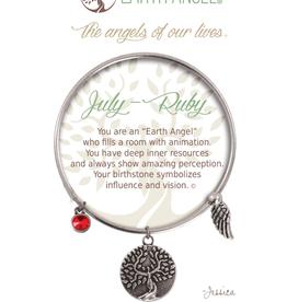 THOUGHTFUL ANGELS Birthstone Bracelet July