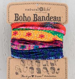 NATURAL LIFE CREATIONS Boho Bandeau Multi Stripe