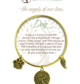 THOUGHTFUL ANGELS Charm Bracelet Dog