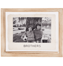 MUDPIE 4 X 6 Brothers Glass Frame