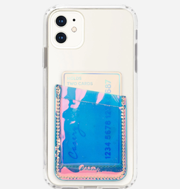 CASERY PHONE POCKET HOLOGRAPHIC TRANSPARENT
