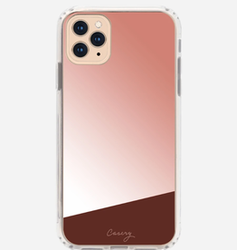 CASERY iPhone 11 Case Mirror Rose Gold