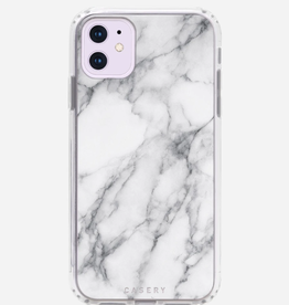 CASERY iPhone 11 Case White Marble