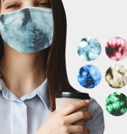 Face Mask Cotton Tie-dye