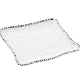 PAMPA BAY BARBAGALLO COMPANY Porcelain Square Serving Platter