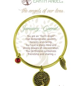 THOUGHTFUL ANGELS Birthstone Bracelet January
