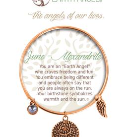 THOUGHTFUL ANGELS Birthstone Bracelet June