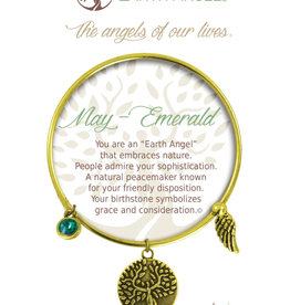 THOUGHTFUL ANGELS Birthstone Bracelet May