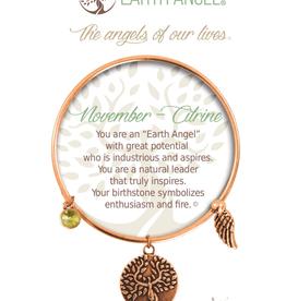 THOUGHTFUL ANGELS Birthstone Bracelet November