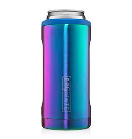 BRUMATE LLC Hopsulator Slim Rainbow Titanium 12 oz