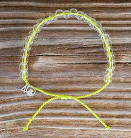 4OCEAN Beaded Bracelet SEA TURTLE- Lime