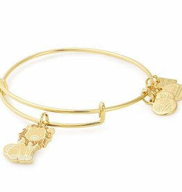 ALEX AND ANI Charity By Design, Lion Bangle Gold