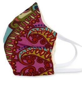 VERA BRADLEY Face Mask Cotton  Resort Medallion
