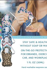 Hand Sanitizer with Carry Caddy