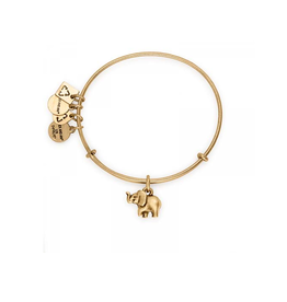 ALEX AND ANI Charity By Design, Elephant II Gold