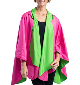 RAINCAPER BY GAZEBO GREEN RAINCAPER - HOT PINK / LIME GREEN