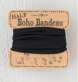 NATURAL LIFE CREATIONS Half Boho Bandeau Black