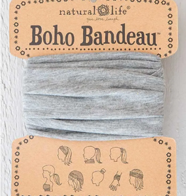 NATURAL LIFE CREATIONS Boho Bandeau Heather Grey