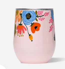 CORKCICLE 12oz Stemless Wine  Rifle Lively Floral Blush