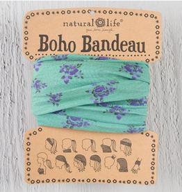 NATURAL LIFE CREATIONS Boho Bandeau Sage Roses