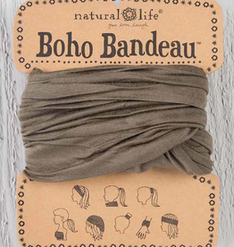 NATURAL LIFE CREATIONS Boho Bandeau Solid Olive