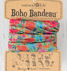 NATURAL LIFE CREATIONS Boho Bandeau Floral Daisy Multi