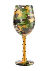 LOLITA Camo Wine Glass