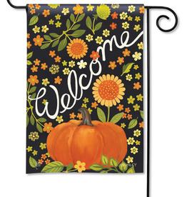 Autumn Meadow Garden Flag