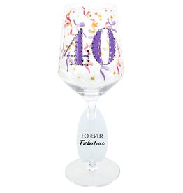40 Gemstone Glass 17 oz