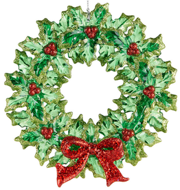RAZ Ornament Wreath 5.5 in