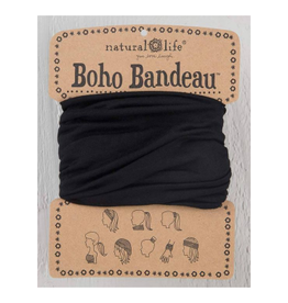 NATURAL LIFE CREATIONS Boho Bandeau Black