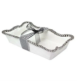 PAMPA BAY BARBAGALLO COMPANY Porcelain Dinner Napkin/Guest Towel Holder White