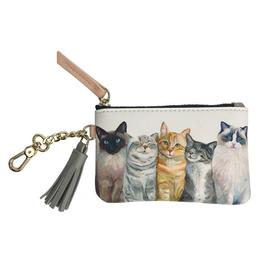 GREEN BOX ART Key Pouch Cat Bunch
