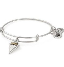 ALEX AND ANI Charm Bangle Arrowhead in Silver