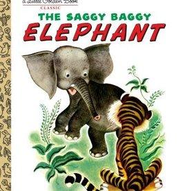 PENGUIN RANDOM HOUSE Little Golden Book Series The Saggy Baggy Elephant