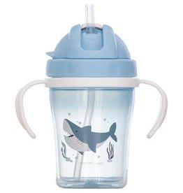 STEPHEN JOSEPH GIFTS Straw Cup Shark
