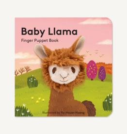 Finger Puppet Book Baby Llama