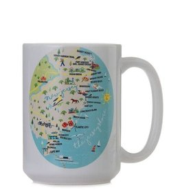 GALLEYWARE 15oz. Ceramic Mug Jersey Shore