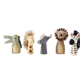 MUDPIE Safari Finger Puppet Set