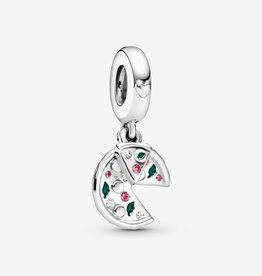 PANDORA Dangle Charm Pizza Love