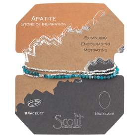 SCOUT CURATED WEARS Delicate Stone Apatite Inspiration