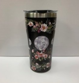 TERVIS TUMBLER 20oz Stainless - Floral Moon Phases