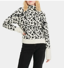 UGG Sage Sweater Snow Leopard