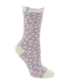 UGG Josephine Fleece Lined Sock Lilac Frost Micro Leopard