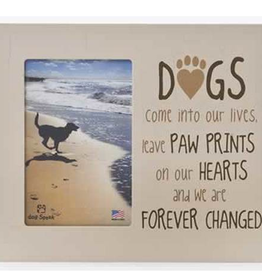 DOG SPEAK Dogs Come Into Our Lives 9.5x8 Frame